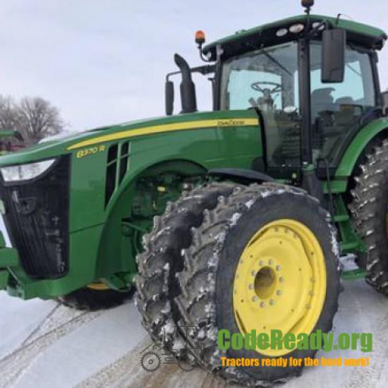 Used 2019 John Deere 8370R for Sale