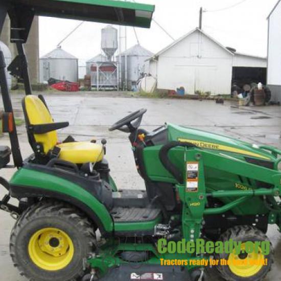 Used 2012 John Deere 1026R for Sale in Ohio