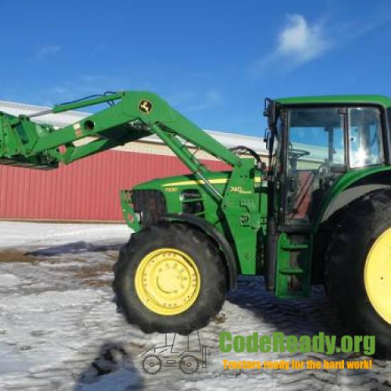 Used 2010 John Deere 7330 for Sale