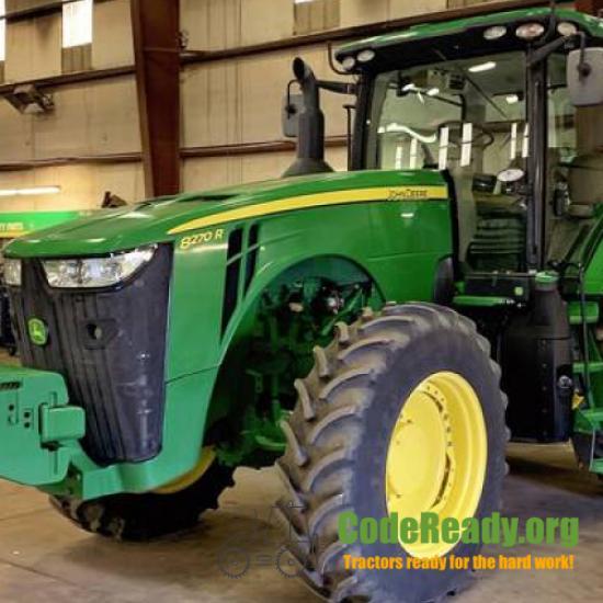 Used 2017 John Deere 8270R for Sale