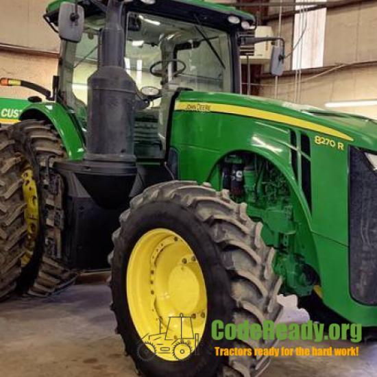 Used 2017 John Deere 8270R in Morton, Texas