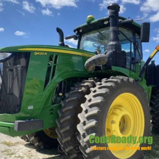 Used 2018 John Deere 9420R for Sale