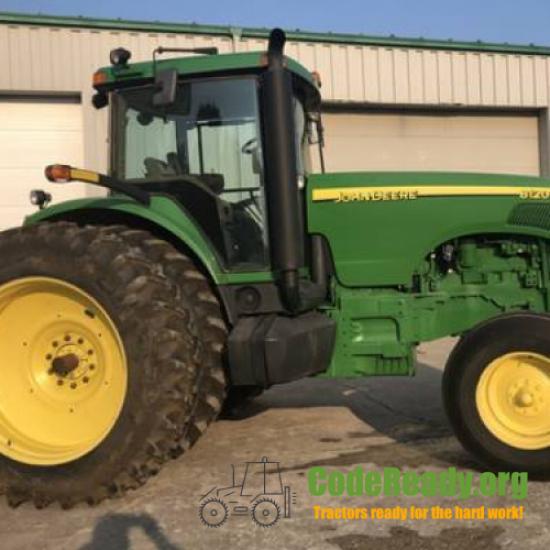 Used 2004 John Deere 8120 in Union, Michigan