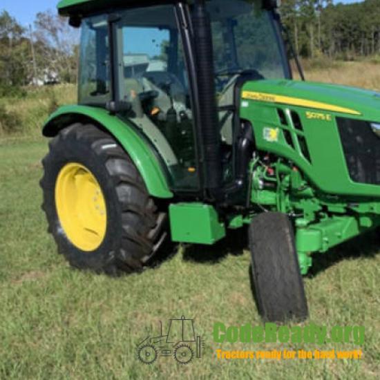 Used 2021 John Deere 5075E for Sale