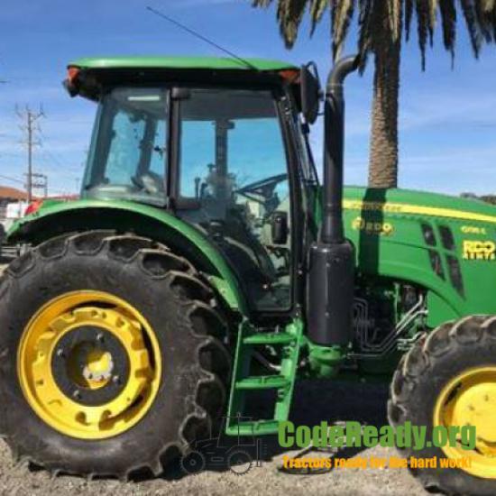 Used 2018 John Deere 6135E in Salinas, California
