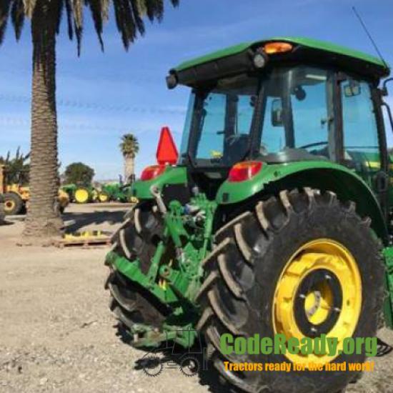 Used 2018 John Deere 6135E for Sale in California