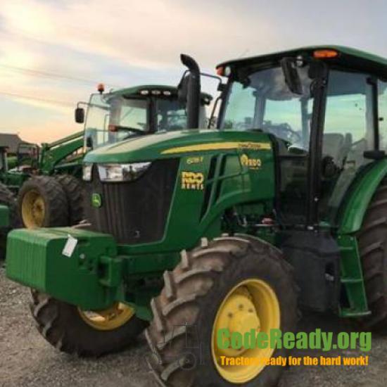 Used 2017 John Deere 6135E for Sale