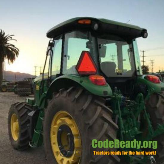 Used 2017 John Deere 6135E for Sale in California