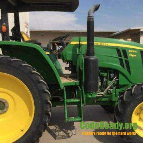 Used 2017 John Deere 6105E in Imperial, California