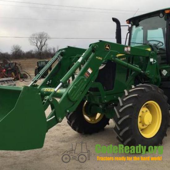 Used 2018 John Deere 6105E for Sale