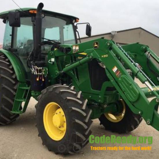 Used 2018 John Deere 6105E for Sale in Oklahoma