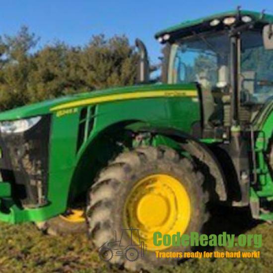 Used 2017 John Deere 8245R for Sale
