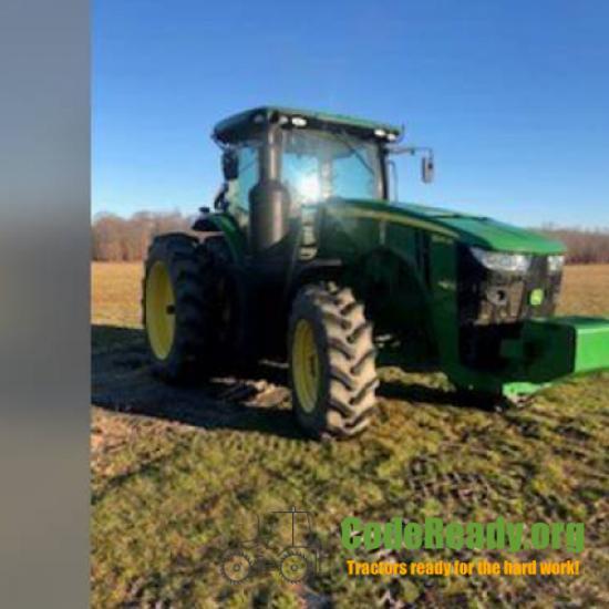Used 2017 John Deere 8245R in Elmer, New Jersey