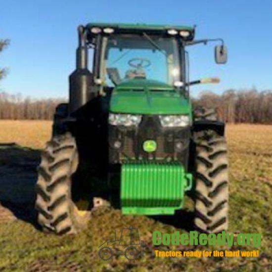 Used 2017 John Deere 8245R for Sale in New Jersey