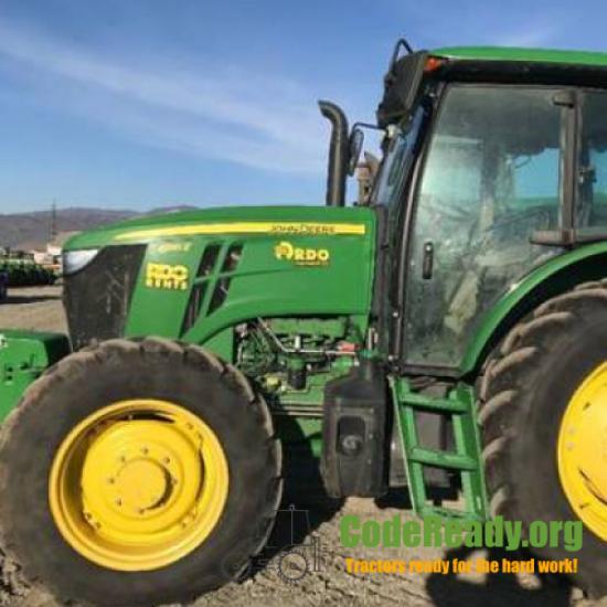 Used 2017 John Deere 6135E in Salinas, California