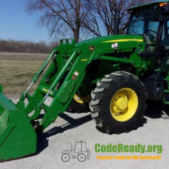 Used 2016 John Deere 6135E for Sale