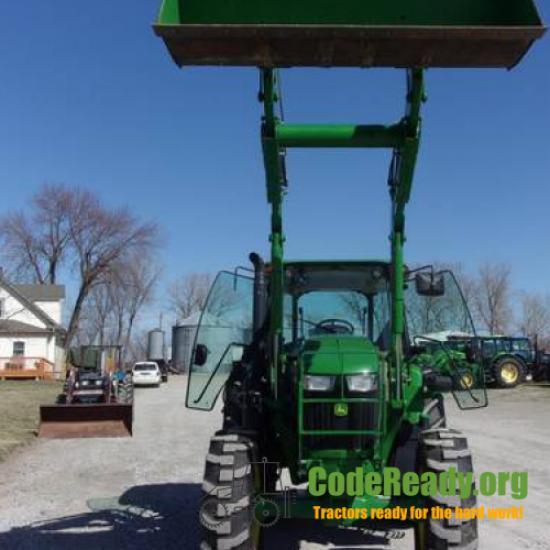 Used 2016 John Deere 6135E in Saint Joseph, Missouri