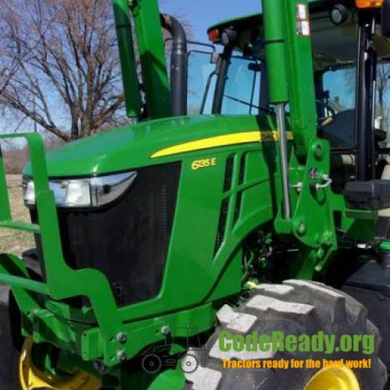 Used 2016 John Deere 6135E for Sale in Missouri