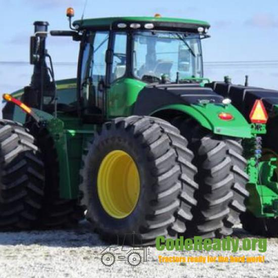 Used 2019 John Deere 9520R for Sale in Illinois