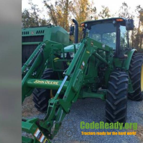 Used 2015 John Deere 6105E in Clanton, Alabama