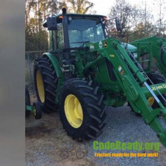 Used 2015 John Deere 6105E for Sale in Alabama