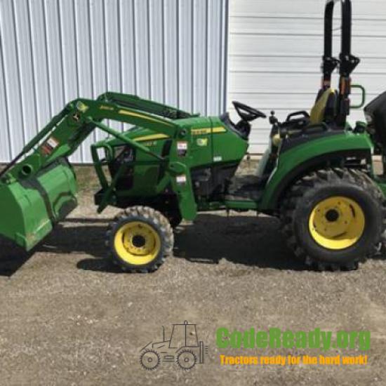 Used 2021 John Deere 2032R for Sale