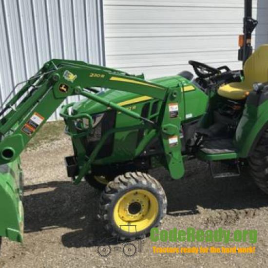 Used 2021 John Deere 2032R in Bloomingdale, Ohio