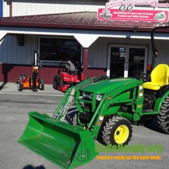 Used 2010 John Deere 2720 for Sale