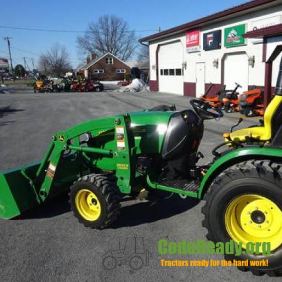 Used 2010 John Deere 2720 for Sale in Pennsylvania