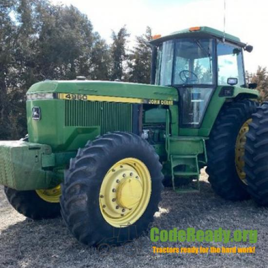 John Deere 4960 for Sale