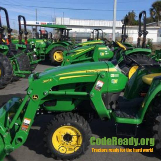 Used 2021 John Deere 3032E for Sale