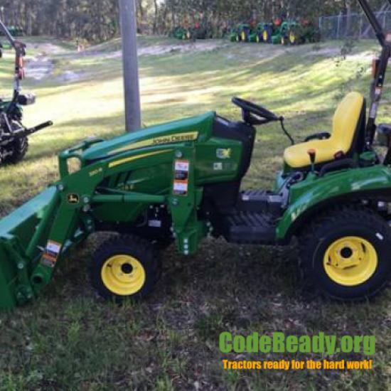 Used 2021 John Deere 1023E for Sale
