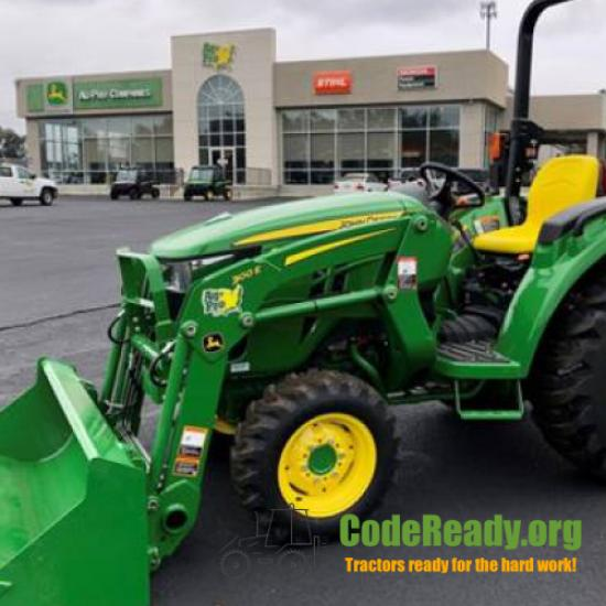 Used 2021 John Deere 3035D for Sale