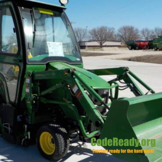 Used 2017 John Deere 1025R for Sale in Iowa