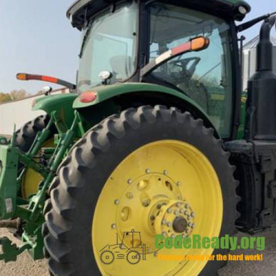 Used 2018 John Deere 8245R for Sale in North Dakota
