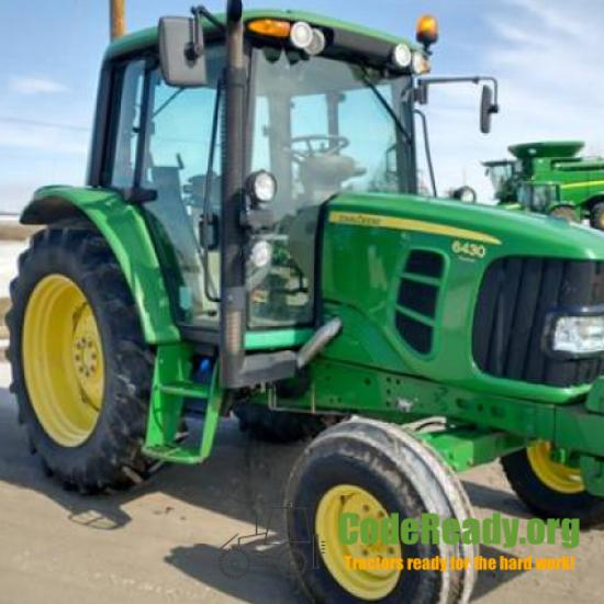 Used 2009 John Deere 6430 Premium in Perry, Iowa