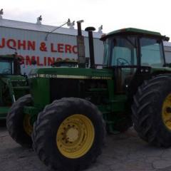1992 John Deere 4455
