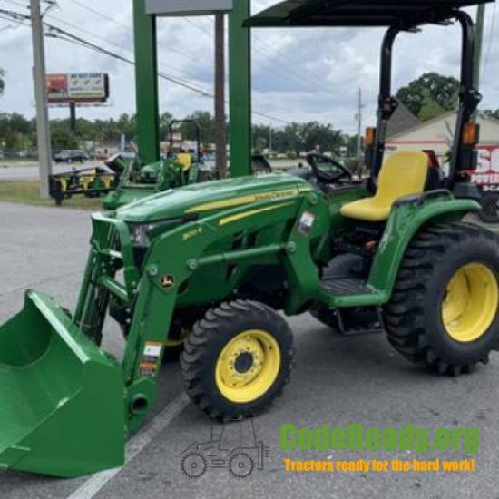 Used 2021 John Deere 3038E for Sale