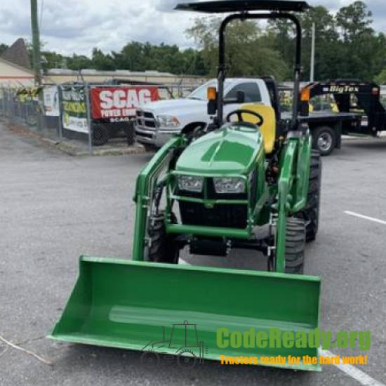 Used 2021 John Deere 3038E for Sale in Florida
