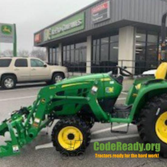 Used 2020 John Deere 3038E for Sale