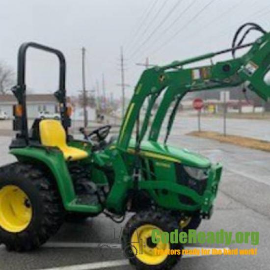 Used 2020 John Deere 3038E for Sale in Alabama