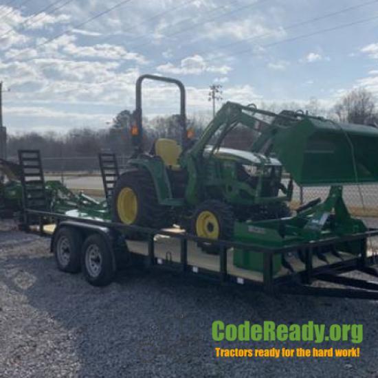 Used 2021 John Deere 3038E for Sale in Alabama