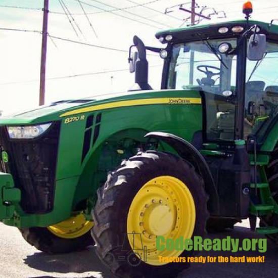 Used 2014 John Deere 8270R for Sale