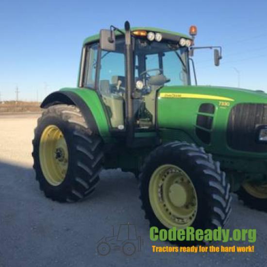 Used 2007 John Deere 7330 for Sale in Texas