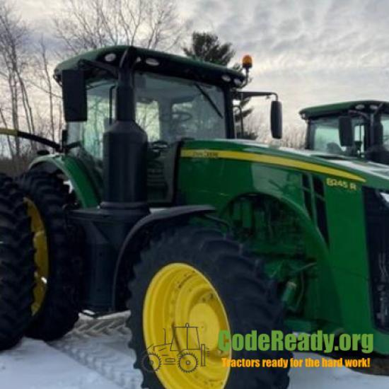 Used 2020 John Deere 8245R in Menomonie, Wisconsin