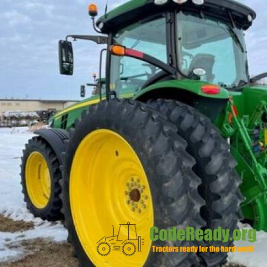 Used 2020 John Deere 8245R for Sale in Wisconsin