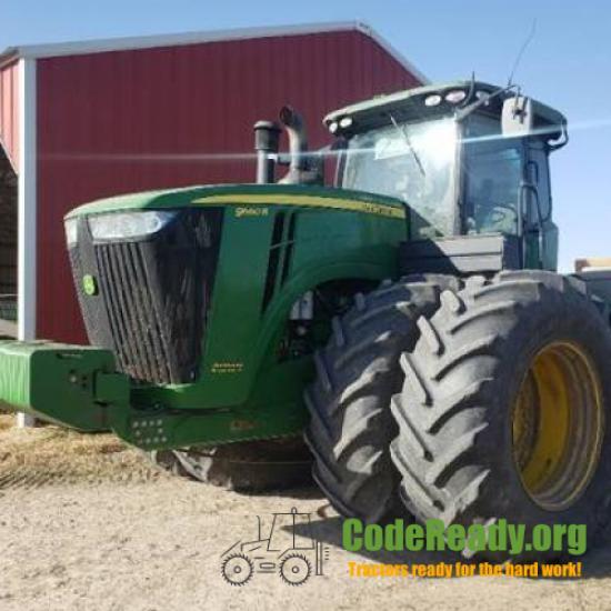 Used 2013 John Deere 9560R for Sale in Nebraska