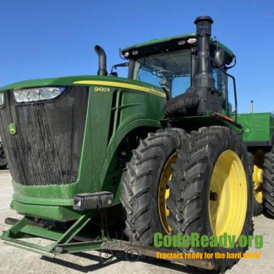 Used 2016 John Deere 9420R for Sale in Indiana