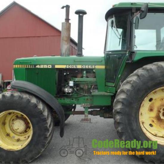 Used 1983 John Deere 4250 for Sale