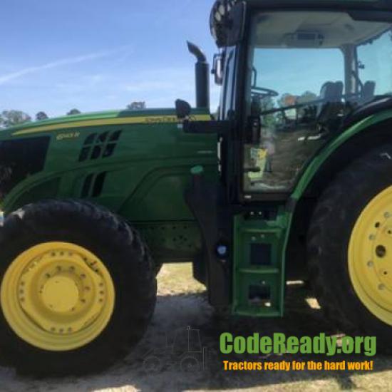 Used 2016 John Deere 6145R for Sale